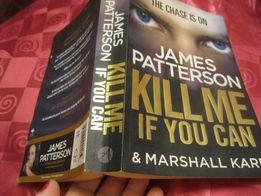книга английский JAMES PATTERSON kill me if you can детектив Паттерсон