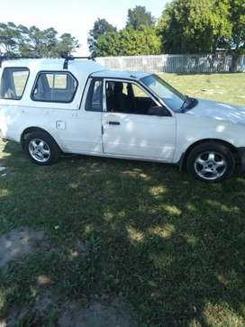 White bakkie as is