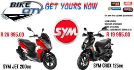 SYM Scooters at Bike City