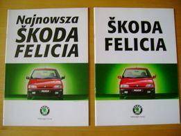 Prospekt Skoda Felicia