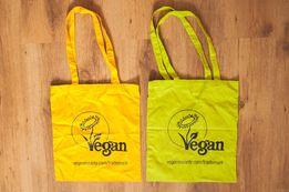 Сумки, сумочки на плечо, эко-сумка eco-bag принт Vegan