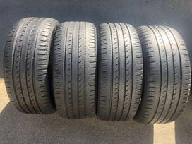 265 50 R20 Goodyear Efficient Grip Tyres