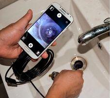 Эндоскоп бороскоп USB web камера глазок наблюдения 1м (микроскоп)