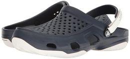 Кроксы-Crocs Men's Swiftwater Deck M Whi Clogs