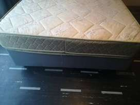 Double bed with new base for sale