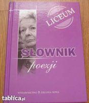 Słownik poezji dla licealistów