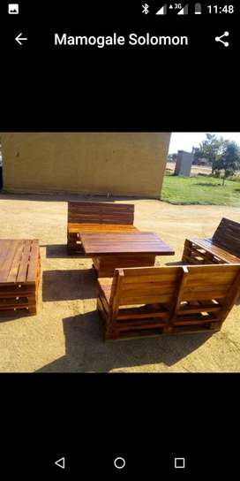 Wooden Chairs n Table