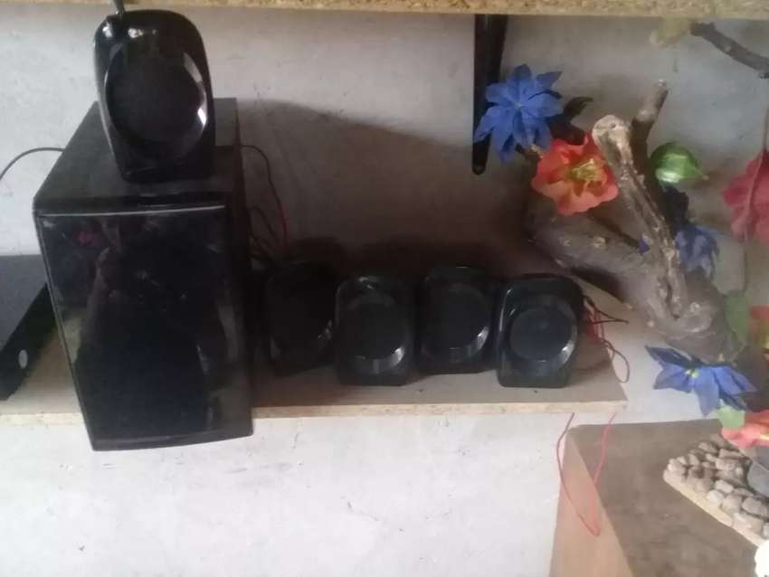 Speakers and sub 0