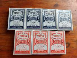 7 x packs of playing cards