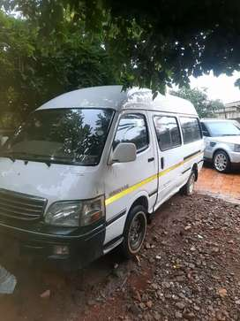 INYATHI TAXI BODY FOR SALE R30 000