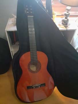 Unused Acoustic Guitar with Cover