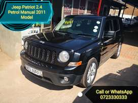 Jeep Patriot 2.4 Petrol Manual