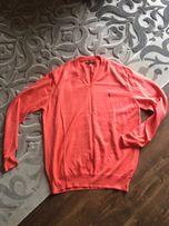 Męski pomarańczowy sweterek reserved XL