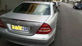 Fresh and clean Benz C180