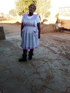 Lesotho childminder/housekeeper/cleaner/care-giver needs stay in work