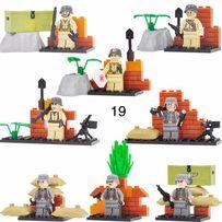 фигурки немецких военных вермахт SWAT спецназовцы солдаты Лего Lego