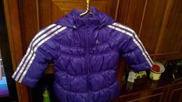 теплая куртка на осень Adidas