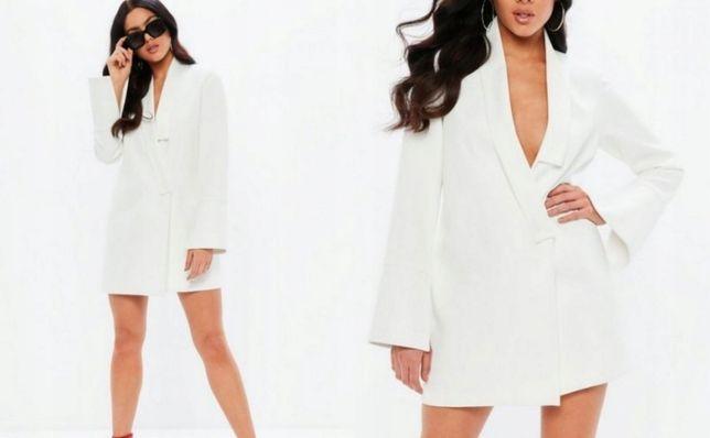 Nowa 2w1 sukienka mokingowa długa marynarka 40 42 Konin - image 1