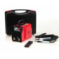 Spawarka inwertorowa Ideal Praktik 200 elektrodowa walizka od ręki