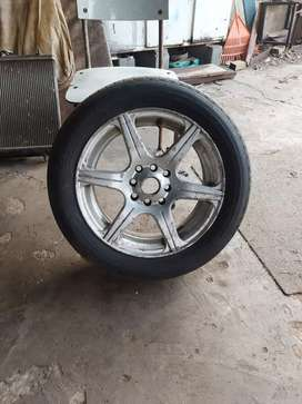 """1 x mag 15"""" with tyre"""