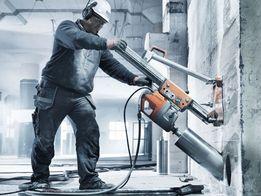Алмазна різка бетону, сверління отворів в цеглі, бетоні без пилу