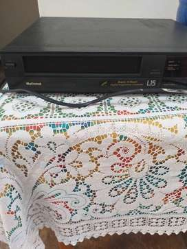 National video cassette player in good condition