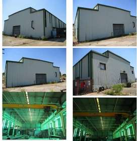 Warehouse with 10ton overhead crane for sale