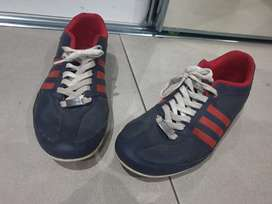 Adidas porche design and suede blue shoes
