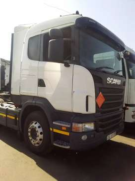 Scania double diff horse
