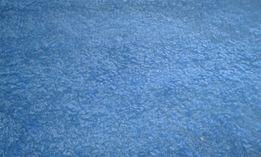 Niebieski dywan shaggy 140 * 190