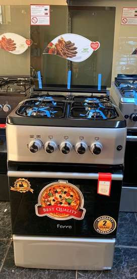 Brand New Gas Stove with Gas Oven,Auto ignition, Flame Failure Device,