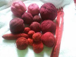 Полушерсть, пряжа, нитки для вязания