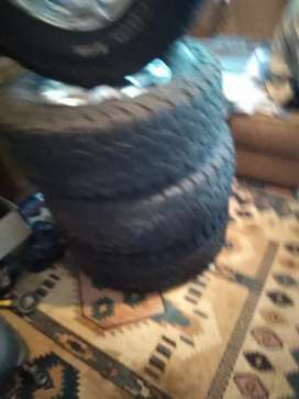 Ford ranger Tyres  235 16 price 6500  00
