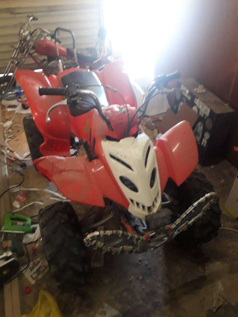 manual quad for sale 0