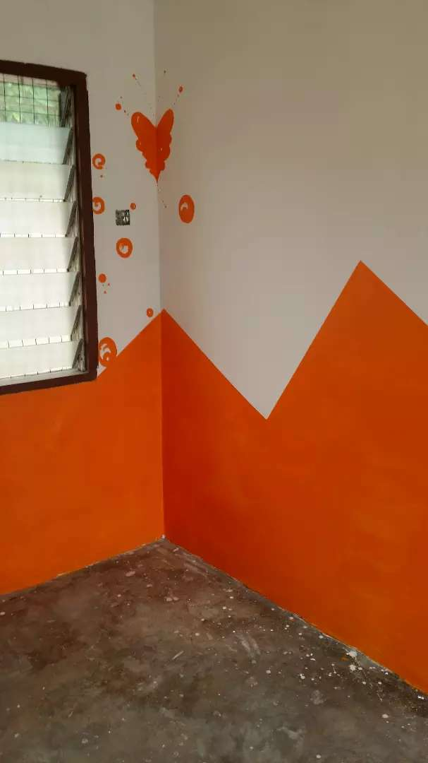 Painting and decoration, Wall paper installation and epoxy works,call 0