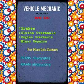 We do all motor vehicles repairs, prices are really reasonable