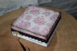 Pudełko szkatułka na biżuterię dla mamy Dzień Matki dla mamy