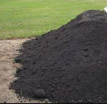 Humus czarnoziem ziemia ogrodowa