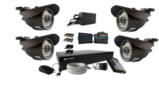 Zestaw 4 lub 8 kamer Full HD do monitoringu- kompletny zestaw! ONLINE! Wrocław - image 4