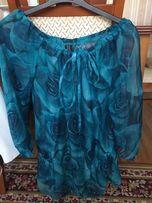 Przeźroczysta bluzka