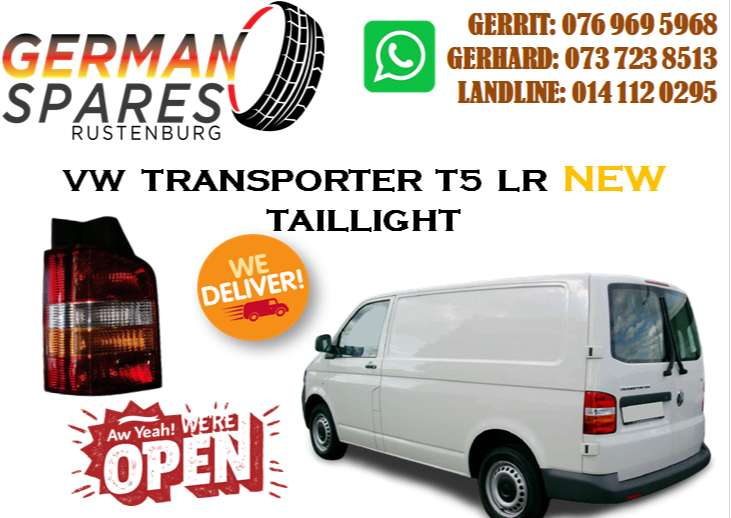 VW TRANSPORTER T5 L/R TAILLIGHT FOR SALE