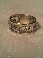 Серебряные филигранные кольца