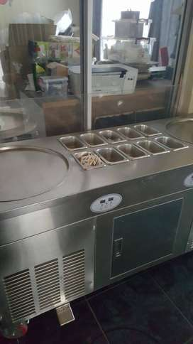 Roll Ice Cream Machine to Swap
