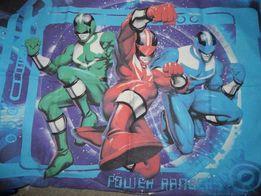 Постель Power Rangers пододеяльник наволочка 2шт
