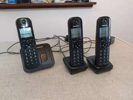 Panasonic cordless telephone set.