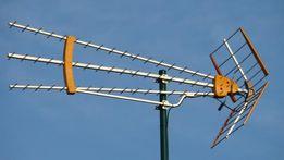Montaż i naprawa anten telewizji satelitarnej i naziemnej