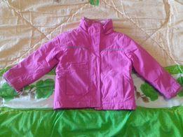 Курточка для девочки 2 в 1