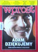 Wprost 2011 - Adam Małysz, Janusz Gajos