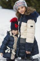 Зимнее пальто пуховик Италия Noble People на рост 150 -160см новое