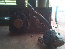 airon pump, radiator and fan